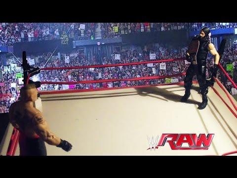 Download Seth Rollins vs. Brock Lesnar - WWE World Heavyweight Championship Match: RAW, March 30, 2015