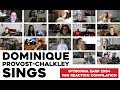 Dominique Singing Reaction Compilation