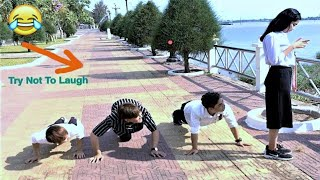 Funny Videos Try Not To Laugh Challenge - Comedy Funny Prank Episode #3 By V-Series