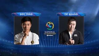 [03.09.2016] Đức Tùng - Trí Quang [FNC 2016 - Bảng B]