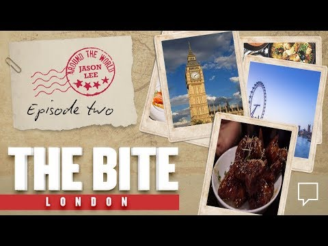 Riding the Eye, Visiting Soho & Blues Kitchen in London on THE BITE