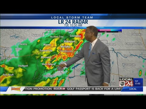 Barry's impact on Mid-South - Midday 7-16-2019