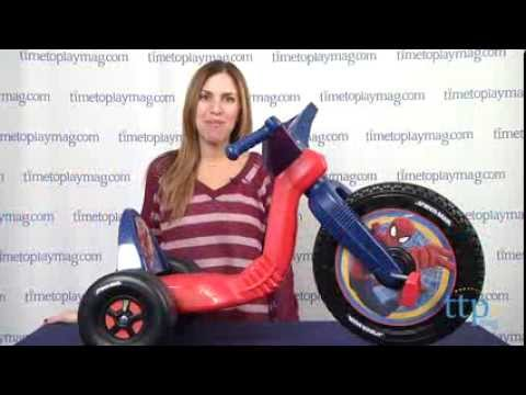 Spider-Man 16-inch Big Wheel from Kids Only