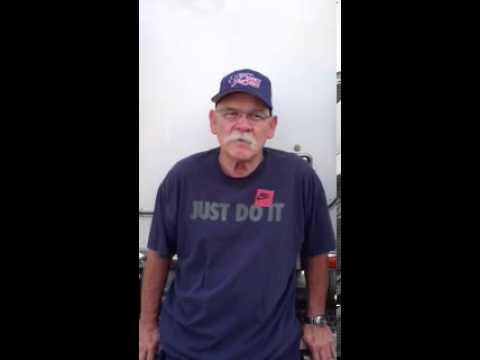 Robert J., Rialto, CA -- Trucker's Speeding Ticket Reduced to Coasting
