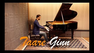 Taare Ginn Advanced Piano Cover | Dil Bechara | Bollypiano