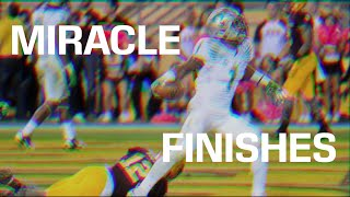 College Football Miracle Finishes (Part 2)