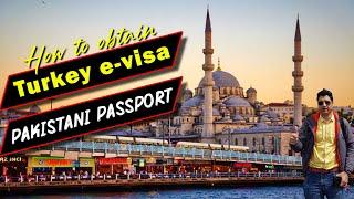 How to Obtain Turkey Evisa on Pakistani Passport?