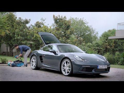 Porsche  718 Купе класса A - рекламное видео 4