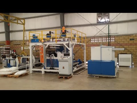 Extrusion Lamination Plant for BOPP Rice Bag