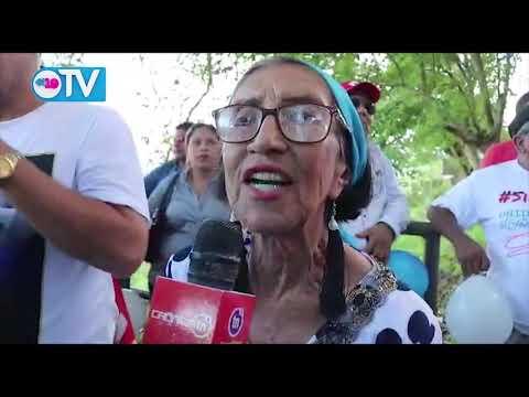 Reportaje del homenaje de los héroes y mártires de la rampla en Siuna
