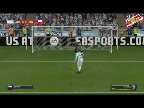 Final Copa Centenario | Version FIFA 16 | Argentina Vs Chile
