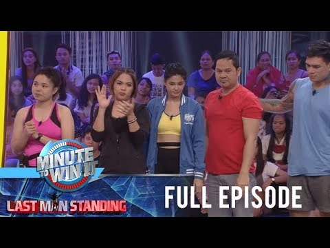 Minute To Win It - Last Man Standing - Full Episode | January 7, 2019