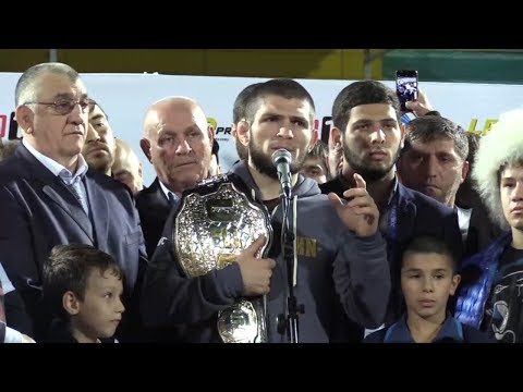 'I begged God for one thing – to leave me in the cage with this clown' - Khabib