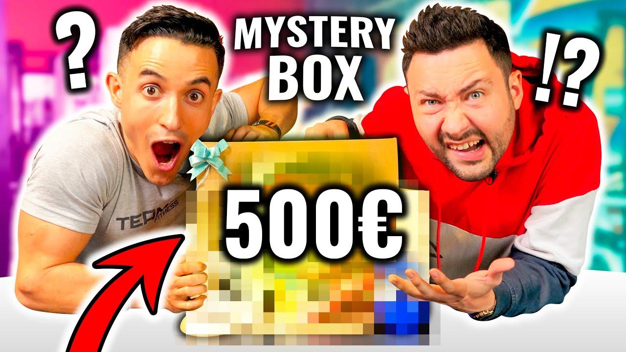 J'ouvre une Box Mystère à 500€ avec Tibo Inshape ! (ça pue l'arnaque)