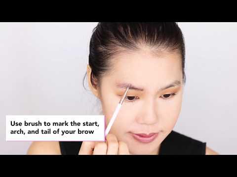Thin Eyebrow Tutorial by Elizabeth Mott