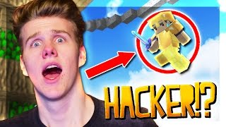 I KILLED A HACKER! | SkyWars Funny Moments