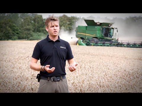 John Deere S785 skurtresker - film på YouTube