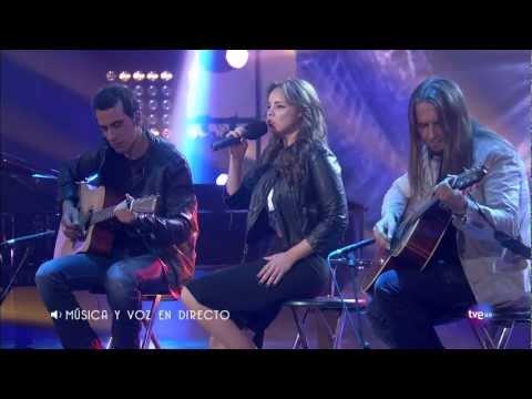 Chenoa - Rutinas (Directo en Música Para Mi Madre) 05-05-2012 [ HD 720p ]