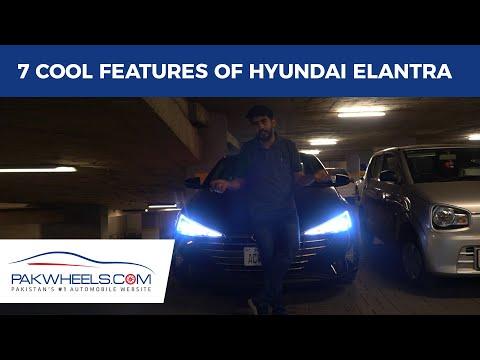 7 Cool Features Of Hyundai Elantra | PakWheels