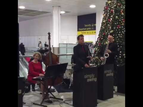 Christmas at Gatwick Airport