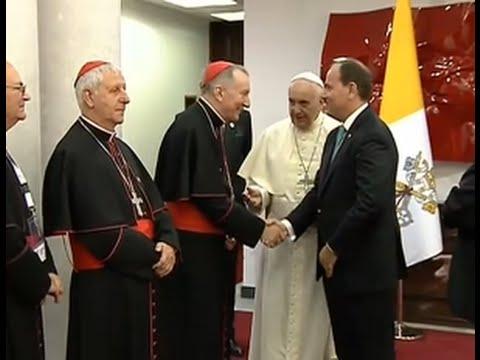 Visite du Pape François au Président de la République d'Albanie
