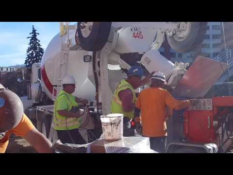 Shotcrete at the University of Nevada Reno, NV 89503