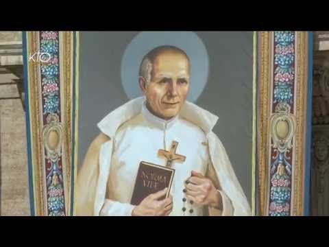 Messe et canonisations de deux bienheureux