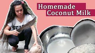 Homemade Fresh Coconut Milk Video