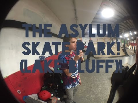 The Asylum Skate Park (lake Bluff)! (Vlog no.38)