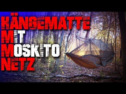 Günstige Hängematte mit Moskitonetz - Gearbest - Outdoor Ausrüstung Survival Bushcraft Camping