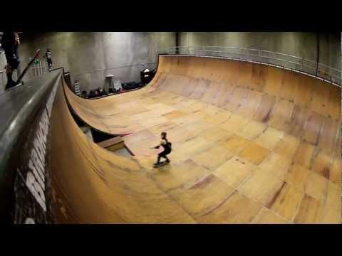 hoopla skate session at tony hawk's ramp!