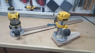 How To Make The Small Circle Cutting Router Jig