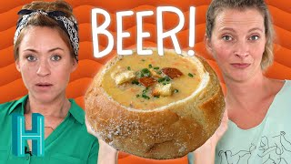 How To Make Beer Cheese Soup |  Hilah Cooking