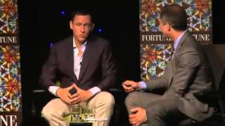 2012 - Eric Schmidt and Peter Thiel - Debate