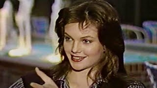 Diane Lane At Age 19 Excited About Streets Of Fire Role 1984
