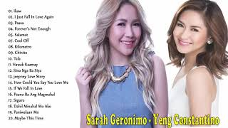 Sarah Geronimo, Yeng Constantino Nonstop Songs - Best OPM Tagalog Love Songs Playlist 2020
