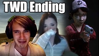 2 YouTubers React To: The Walking Dead S1 Ending