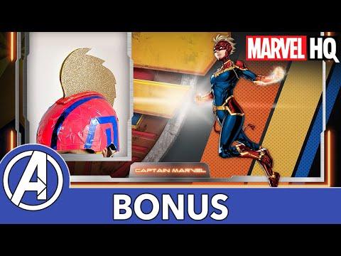 Mech Mine Marvel   Captain Marvel's Helmet   Marvel's Avengers: Mech Strike