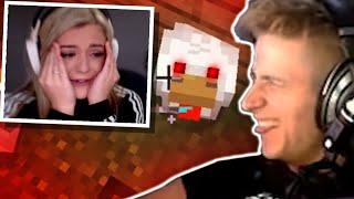 I Killed my Girlfriend's pet Chicken in Minecraft