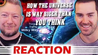 ''UNBELIEVABLE''! How The Universe Is Way Bigger Than You Think REACTION
