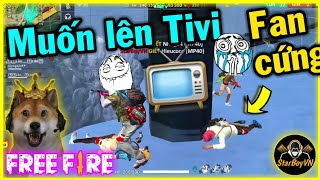[Free Fire] Leo Rank gặp FAN CỨNG muốn lên Tivi   StarBoyVN