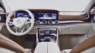 Mercedes E-Class (2017) INTERIORS