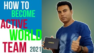 How To Become Active World Team in Herbalife 2021! Active World Team Qualification  Herbalife 2021 !