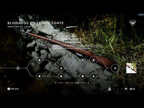 Battlefield V Desbloqueando el Rifle Ross Canadiense