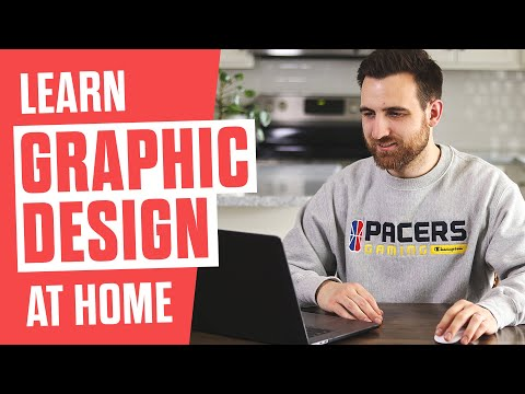 How to Learn Graphic Design at Home
