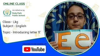 """Introduction of Letter """"E"""" 