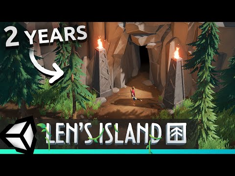 2 Years of Unity Game Development in 10 Minutes! Len's Island