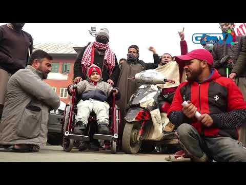 Differently-abled in Kashmir demand reservations, job guarantee on IDPD