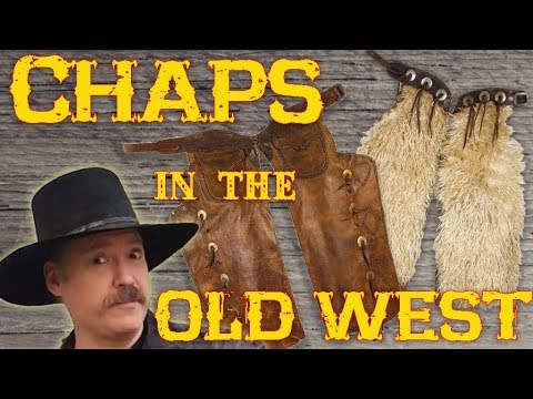 Chaps in the Old West