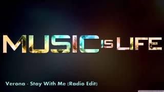 Verona - Stay With Me (Radio Edit)